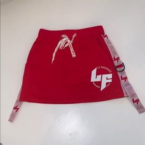 LF athletic skirt w/side taping